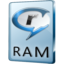 64x64px size png icon of RAM File