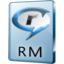 64x64px size png icon of RM File