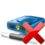 64x64px size png icon of Network Drive Offline