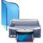 64x64px size png icon of Printer And Faxes