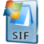 64x64px size png icon of SIF File