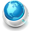 64x64px size png icon of Globe Network