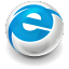 64x64px size png icon of Internet Explorer Big