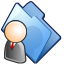 64x64px size png icon of User folder