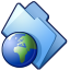 64x64px size png icon of Websites folder