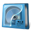 64x64px size png icon of drive bluray