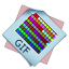 64x64px size png icon of filetype gif