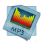64x64px size png icon of filetype mp 3