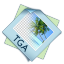 64x64px size png icon of filetype tga