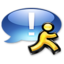64x64px size png icon of Application iChat aqua