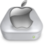 64x64px size png icon of Drive Apple gray metal