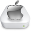 64x64px size png icon of Drive Apple gray