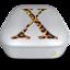 64x64px size png icon of Drive OS X Jaguar metal