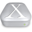 64x64px size png icon of Drive OS X metal