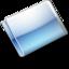 64x64px size png icon of Folder Alternative aqua