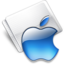 64x64px size png icon of Folder Apple aqua
