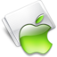 64x64px size png icon of Folder Apple lime