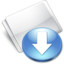 64x64px size png icon of Folder Drop Box