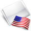 64x64px size png icon of Folder Flag USA