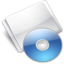 64x64px size png icon of Folder Optical Disc aqua
