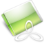 64x64px size png icon of Folder RAD E8 lime