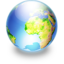64x64px size png icon of Sphere earth