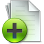 64x64px size png icon of Document Add