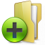 64x64px size png icon of Folder New