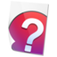 64x64px size png icon of Help File