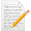 64x64px size png icon of page edit