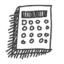 64x64px size png icon of calculatrice