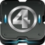 64x64px size png icon of fantastic 4