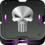 64x64px size png icon of punisher