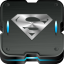64x64px size png icon of superman