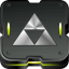 64x64px size png icon of zelda triforce