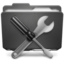 64x64px size png icon of Folder Atilities P
