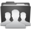 64x64px size png icon of Folder Groups P