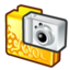 64x64px size png icon of folder digital camera