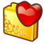 64x64px size png icon of folder favourite