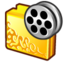 64x64px size png icon of folder movies