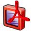 64x64px size png icon of adobe acrobat professional