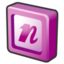64x64px size png icon of microsoft office 2003 onenote