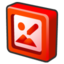64x64px size png icon of microsoft office 2003 picture manager