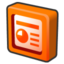 64x64px size png icon of microsoft office 2003 powerpoint