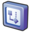 64x64px size png icon of microsoft office 2003 visio