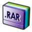 64x64px size png icon of file rar