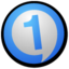 64x64px size png icon of RealOne Player