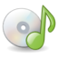 64x64px size png icon of Mimetypes audio