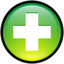 64x64px size png icon of Button Add