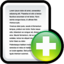 64x64px size png icon of File New